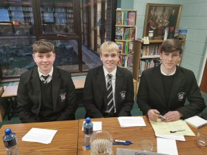 Senior Irish Debating Team